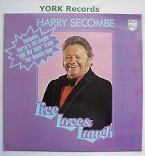 HARRY SECOMBE - Live Love & Laugh - Excellent Con LP Record Philips 6308 172