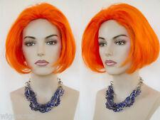 Fantasy Striking, Straight, Blunt Bob in Neon Colors Costume Wigs
