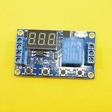 Módulo de temporizador de pantalla LED 5 V Interruptor De Retardo Micro USB fuente de alimentación Multi-función
