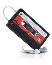 Coque housse étui cassette K7 rétro iPhone 3 3G Noire Neuve