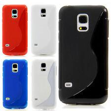 TPU Silikon Schutz Hülle Handy Case Etui für Apple HTC LG Samsung Sony S Line