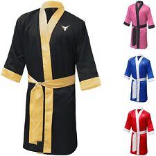 Farabi Professional Boxing Robe Muay Thai Gown Martial Arts Gown Satin