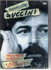 FRANCESCO GUCCINI  DVD Palasport concerto e altre sciocchezze MADE IN THE EU