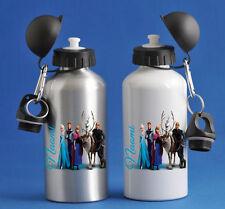 Frozen - Personalised Kids/Drinks/Sports Childrens Water Bottle