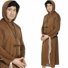 Brown Monks Costume Friar Tuck Religous Fancy Dress Costume Ideas Smiffys 20424