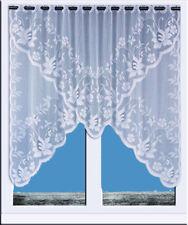 Scheibengardine Bistrogardine Jacquard Sets Küchengardine weiß Panneaux 2314