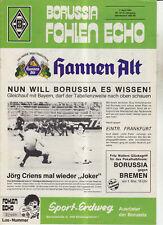 BL 83/84 Borussia Mönchengladbach - Eintracht Frankfurt