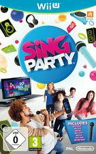 Wii U Sing Party (inkl. Mikrofon) - Nintendo Wii U - deutsch- Neu / OVP
