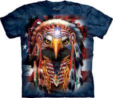 The Mountain Native Patriot Eagle America USA Freedom Adult T Tee Shirt 104879