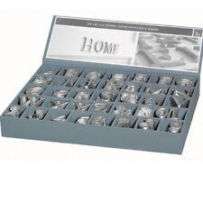 ABC 123 Aluminium Buchstaben Alu Letter Zahl Zahlen Räder Design zur Wahl