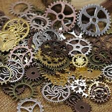 Steampunk WATCH   Pieces Steam Punk Cogs Gears Wheels Vintage