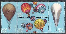 USA - MNH Block of 4  Stamps -  Ballooning