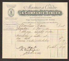 """CHAMBERY (73) MACHINES à COUDRE """"LA COMPAGNIE SINGER"""" en 1914"""