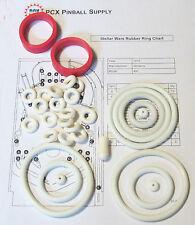 1979 Williams Stellar Wars Pinball Rubber Ring Kit