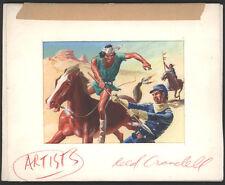 "Original REED CRANDALL unused Topps""Civil War News"" Art"
