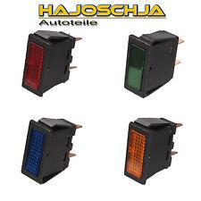 indicador luminoso luz de advertencia Verde Rojo Azul Naranja Lámparas ANGULOSO
