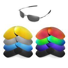 Walleva Replacement Lenses for Oakley Whisker Sunglasses - Multiple Options