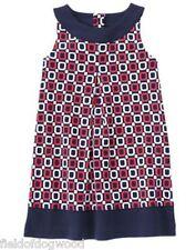NWT Gymboree CIAO PUPPY Geo Ponte Sleeveless Dress 4,6,7,10,12