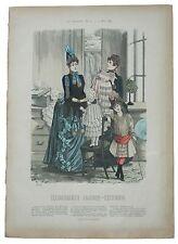 Pelerinen kinder Illustrirte Frauen Zeitung Verlag Franz Lipperheide Moda Berlin