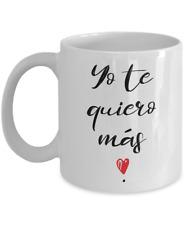 Tazas de Cafe Para Mujeres te Quiero Corazon