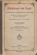 Heil uomo: psicologia e logica in istruzione (con 52 fig.) 1910
