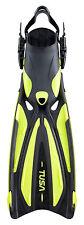 Tusa Solla SF22 Fin Open Heel  All Sizes for Scuba Snorkeling Yellow