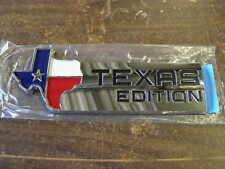 NOS Ford Pickup Truck Texas Edition Rear Emblem F150 Ornament Badge 2010 2011 TX