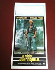 IL NIDO DELL'AQUILA locandina poster affiche Rutger Hauer A Breed Apart AM88