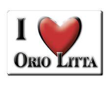 CALAMITA LOMBARDIA FRIDGE MAGNET MAGNETE SOUVENIR LOVE ORIO LITTA (LO)