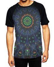 Mandala Dreamcatcher Men's All Over Baseball T Shirt - Psychedelic Hipster