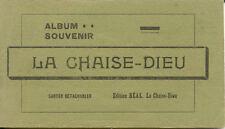 carnet complet neuf 20 cpa LA CHAISE DIEU éd BEAL vert