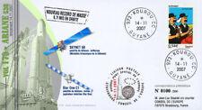 "V179LT1 FDC KOUROU ""ARIANE 5 Rocket - Flight 177 / SKYNET 5B / TINTIN"" 2007"
