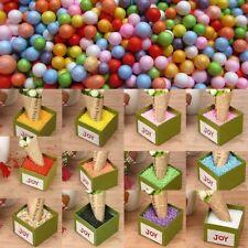 Crafts Colorful Assorted Balls Mini Beads Polystyrene Styrofoam Filler Forms