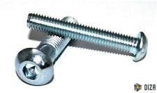 Flachrundkopfschrauben Stahl verzinkt 10.9 DIN 7380 M3-M10 Linsen Innensechskant