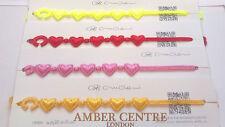 Genuine Italian Made Cruciani Bracelet KIDS HEARTS Colour Variety