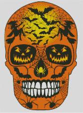Cross stitch chart, pattern. Day of the dead, Sugar, Skull, Halloween, #41