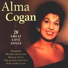 Alma Cogan - 20 Great Love Songs - Alma Cogan CD DUVG The Cheap Fast Free Post