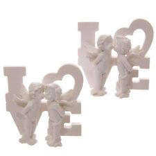 White Angel Cherubs,9 Designs, Love, Mum, Nan, Valentines Day BN