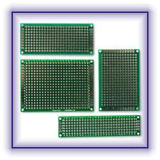 Leiterplatte Lochplatte Lochraster Platine verschiedene 5x7 4x6 7x3 8x2 cm Neu
