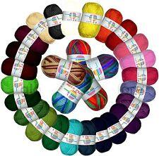 Filzwolle 100% Schurwolle uni & mehrfarbig filzen, stricken, basteln 5,60€/100g