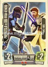 Pre Vizsla vs Obi-Wan Kenobi #177 Force coronó 2