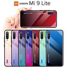 COVER per Xiaomi Mi 9 Lite ORIGINALE Gradient Glass RETRO VETRO TEMPERATO