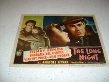 LOBBY CARDS- 1939-1948- A/C, L/H, ALLEN, PRICE, FAYE,FONDA, GABLE $8-$85 PER CAR
