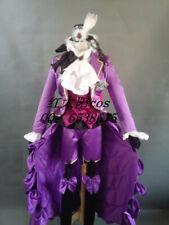 Black Butler II Cosplay Earl Alois Trancy Purple Uniform Set Cosplay Costume
