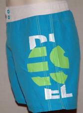 "Diesel Swim Shorts Blue Green White Small 28""-30""W Print Cheap Swim Shorts Cheap"