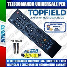 TELECOMANDO UNIVERSALE TOPFIELD CLICCA IL TUO MODELLO LO RICEVERAI PRONTO.