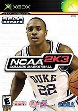 NCAA College Basketball 2K3 (Microsoft Xbox, 2002)
