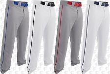 Easton Rival 2, Adult Mens Piped Open Bottom Baseball Pants A167124