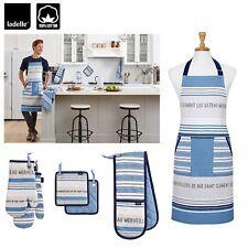 Clement Cotton Kitchen Range by Ladelle - Apron, Mitton, Pot Holder Choice