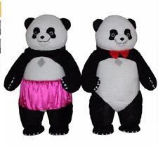 Hot New Inflatable China Plush Panda Bear Mascot Costume Suits Adults Dress Gift